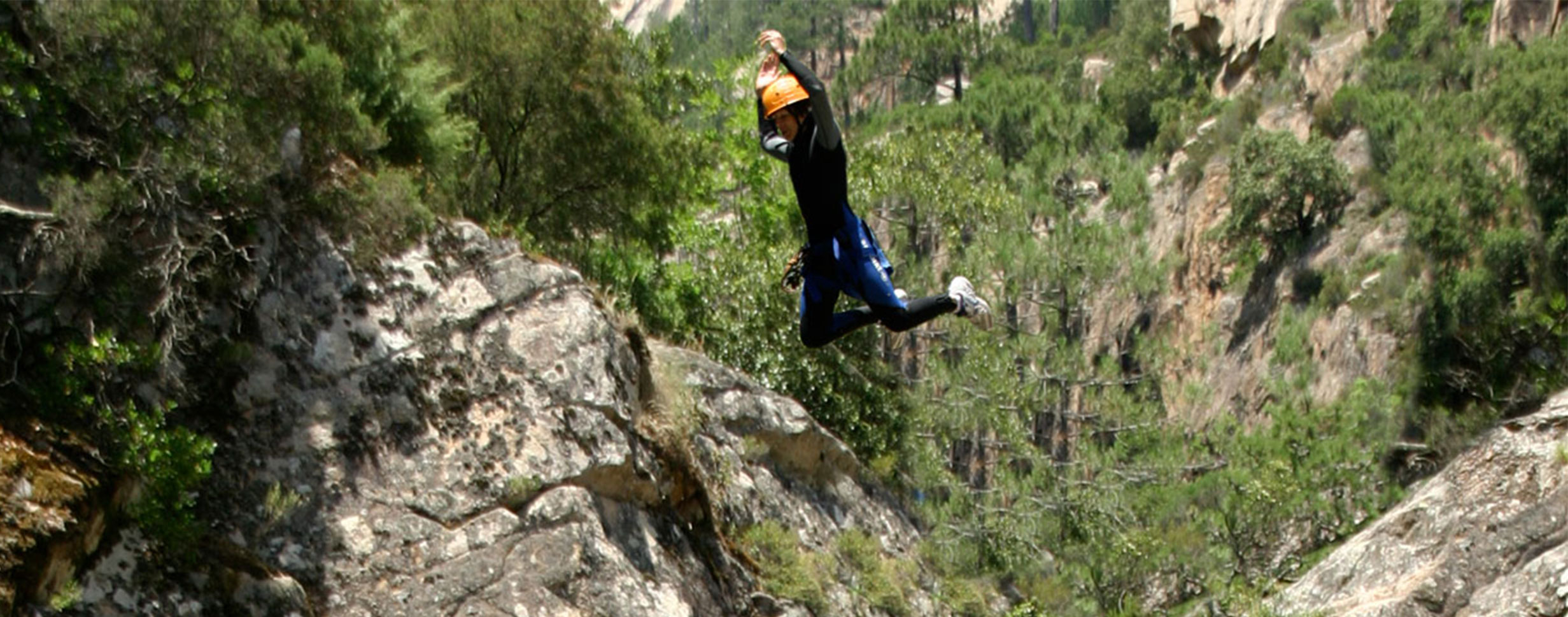 Canyoning corse free ride