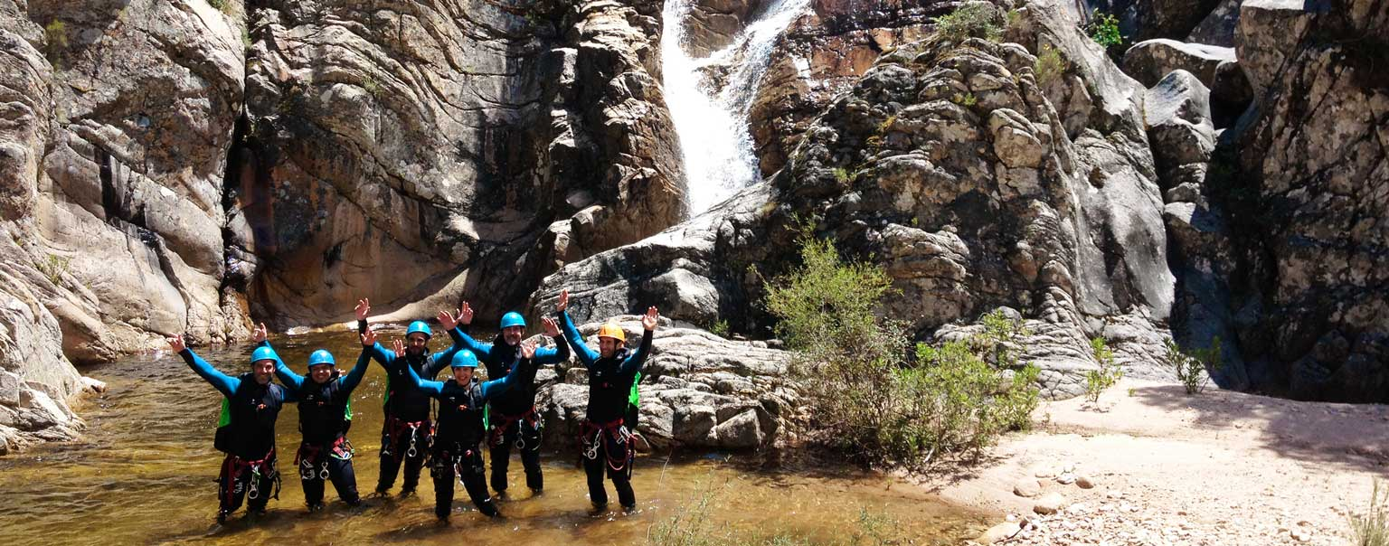 séminaire canyoning corse